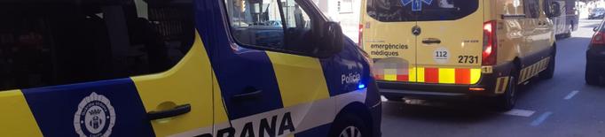 Un ciclista que circulava per la vorera atropella un nen de 4 anys a Lleida