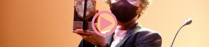 ⏯️ Maria Barbal rep el Premi d'Honor de les Lletres Catalanes