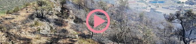 ⏯️ Dos incendis cremen vegetació agrícola a Artesa de Segre i Gratallops