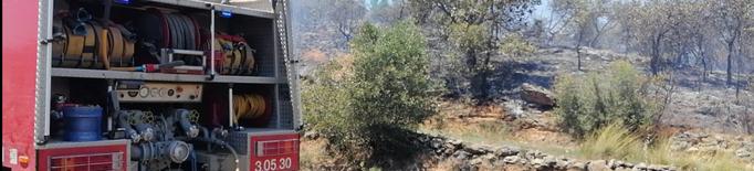 ⏯️ Controlat l'incendi de Gratallops i a punt de ser extingit el d'Artesa de Segre