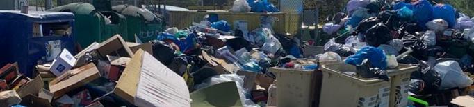 Cervera intensifica la campanya per disminuir les bosses d'escombraries