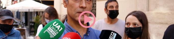 ⏯️ El Comú de Lleida acusa Pueyo d'aplicar-los un 155 i li demanen la restitució de Talamonte