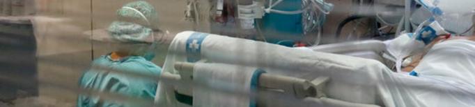 Els hospitals catalans ja superen els 2.000 ingressats per covid