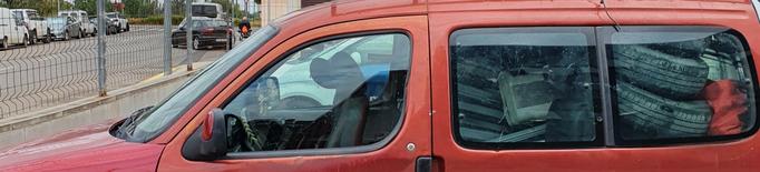Detinguts tres joves a Lleida que acabaven de robar en una deixalleria