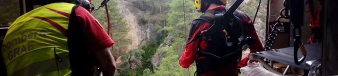 Els Bombers tanquen el cap de setmana amb 26 rescats al medi natural