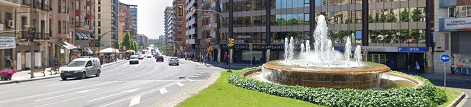 Reparacions als paviments de Príncep de Viana i Avinguda Catalunya de Lleida