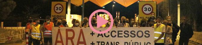 ⏯️ Membres de RESCAP-2 celebren a les Borges l'alliberament del peatge