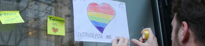 """L'Observatori Contra l'Homofòbia registra un 30% més d'incidències i alerta d'una tendència """"a l'alça"""""""
