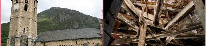 El Conselh d'Aran millorarà l'accessibilitat al campanar de Sant Andreu de Salardú