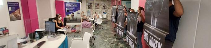 La CUP ocupa una oficina d'Endesa a Lleida