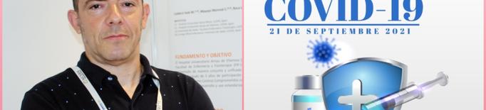 Un infermer lleidatà, ponent en una jornada sobre desinformació de la vacuna covid-19