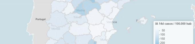 Lleida té la major incidència de covid-19 de l'Estat de les últimes setmanes