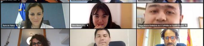 Catalunya i El Salvador comparteixen experiències sobre polítiques de joventut