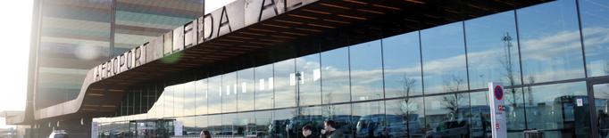 L'Aeroport de Lleida-Alguaire registra el 2020 un 60% de passatgers i un 43% d'operacions menys