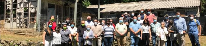 Una nova vida per a l'Hospital de cartró de la Vall Fosca