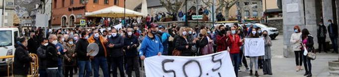 El món local del Pirineu es concentrarà a Barcelona per exigir el confinament comarcal