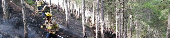 Controlat l'incendi de Navès