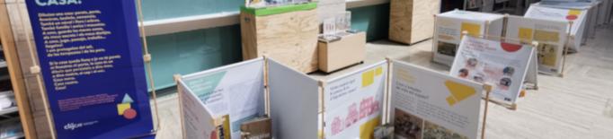 """Biblioteques de Lleida promouen la lectura entre el jovent amb l'exposició interactiva """"Casa!"""""""