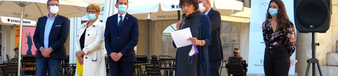 Lleida celebra el Dia Mundial de la Salut Mental