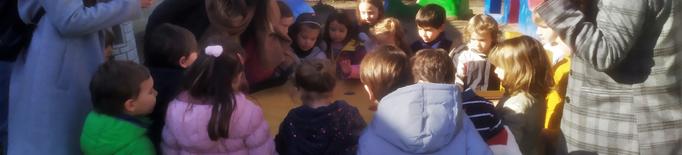 L'Escola Sant Jordi de Lleida estrena un pati científic creat per universitaris