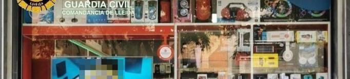 Intervenen més de 7.000 euros de material falsificat a Lleida