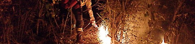 Controlat l'incendi de Riner, que ha cremat 7,5 hectàrees