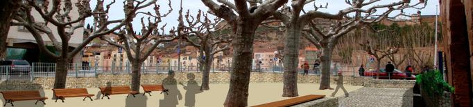 La urbanització de la plaça Sant Domènec ressaltarà el conjunt monumental de Balaguer