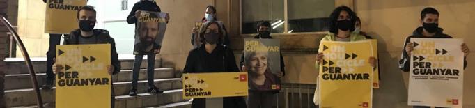 La CUP dóna el tret d'inici de la campanya denunciant la mala gestió de la pandèmia