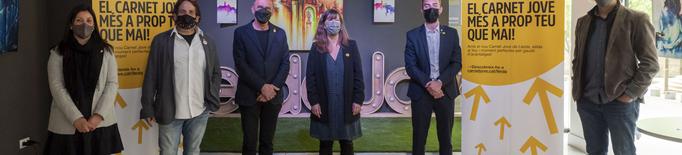 La Paeria i Joventut presenten el nou Carnet Jove de Lleida