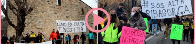 """⏯️ L'hostaleria de l'Alta Ribagorça denúncia """"l'ofec del sector"""" i exigeix acabar amb les franges horàries"""