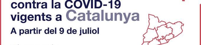 ℹ️ Noves restriccions contra la covid-19 a partir del 9 de juliol a Catalunya