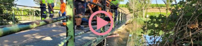 ⏯️ Un abocament d'hidrocarbur al canal de Seròs deixa més de 25 pobles sense aigua de boca