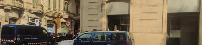 Els Mossos desallotgen el Casal Popular de Joves de Lleida