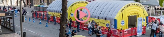 ⏯️ Llargues cues per fer-se una PCR al cribratge de la Zona Alta de Lleida