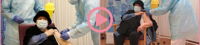 ⏯️ Una resident de Balàfia, primera vacunada de la demarcació de Lleida