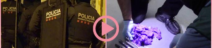⏯️ 29 detinguts de tres clans que distribuïen cocaïna, heroïna i marihuana des de Balaguer