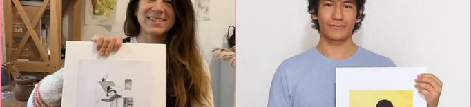 Eugènia Gonzàlez i Cèsar Rodríguez guanyen el primer Premi d'Il·lustració del Segrià