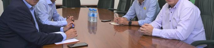 El president de la Cambra de Lleida i l'alcalde de Mollerussa es reuneixen per establir estratègies
