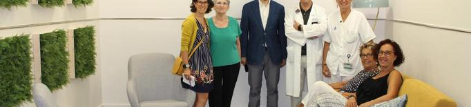 L'Arnau de Vilanova estrena una sala per millorar l'atenció als pacients oncològics
