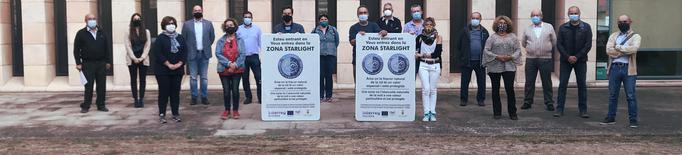Nova senyalització de cel fosc als municipis Starlight de la Noguera