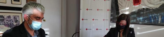 La Creu Roja de Lleida signa un conveni de col·laboració amb una empresa lleidatana