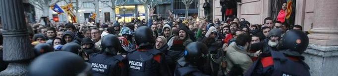 Els CDR criden a la mobilització en resposta a la detenció de 3 persones per desordre públic a la subdelegació