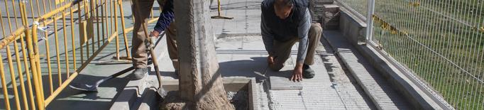 L'Ajuntament de Tàrrega contracta persones en situació d'atur per a desenvolupar tasques de millora de la via pública
