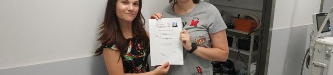 Premien un vídeo pòster d'infermeria de l'Arnau de Vilanova