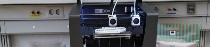 La Universitat va destinar part dels diners a fabricar viseres amb impressores 3D / FOTO: EPS-UdL