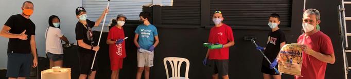 Voluntariat juvenil a Tàrrega per millorar espais locals