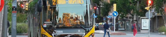 Autobusos de Lleida recupera progressivament el servei en entrar en la Fase 1