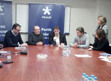L'alcaldia de Lleida, repte per al PDeCAT el 2019