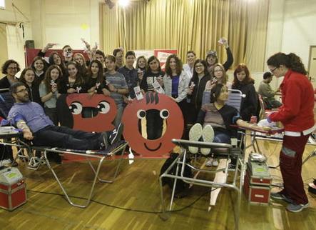 Més donants de sang joves