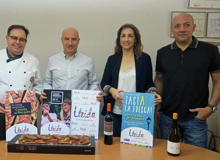 Coques de recapte, maridatges i sopars per a les nits d'estiu de Lleida